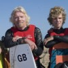 Richard Branson turns back during English Channel crossing