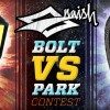 the Bolt vs Park contest! Win a one of the two kites
