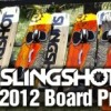 2012 Slingshot kiteboards