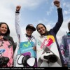 Youri Zoon and Gisela Pulido conquer the 2012 freestyle competition in St. Peter Ording