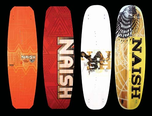 NAISH BOARDS 2008