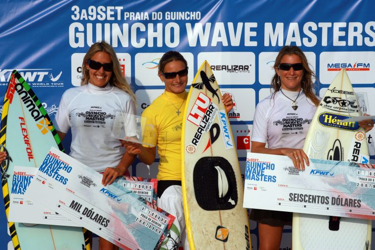 Kpwt Guincho Wave Masters Podium Women