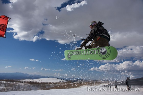 2010 Liquid Force Snowkite board