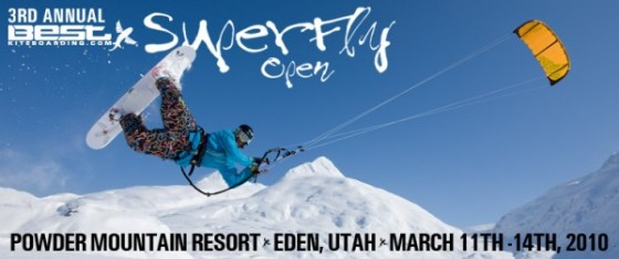 2010 edition of Best SUPERFLY Open Snowkiting Competition at Powder Mountain