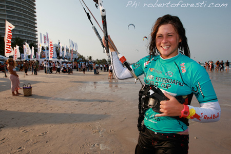 Gisela Pulido won the Hua Hin PKRA stage