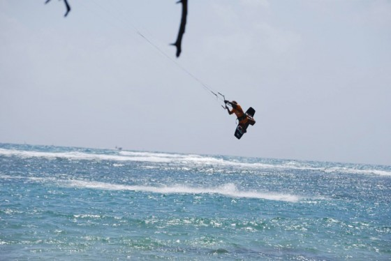 Alex Soto won Heineken Kiteboarding Freestyle Challenge