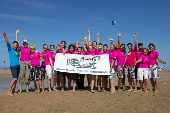 KB4girls 2010 a strong success with the blasting winds of the Egyptian Red Sea