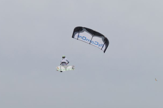 Mario Rodwald and Anne Valvatne conquered the second stop of the German Kitesurf Trophy