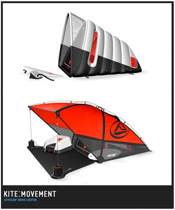 Reef Surf Tent Concept