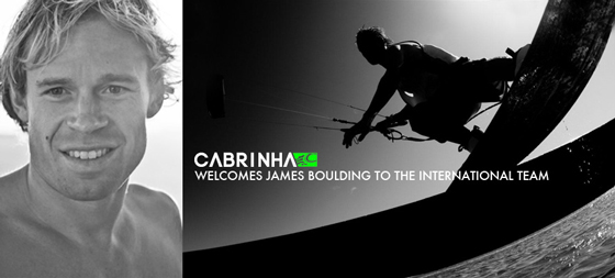 Cabrinha Welcomes James Boulding to the team!