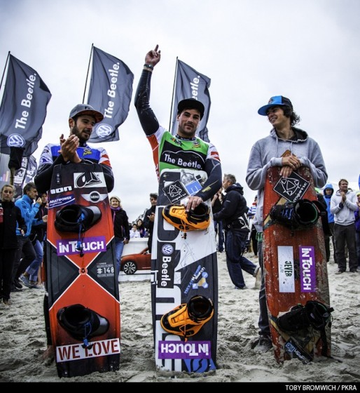 Jacobs and Winkowska Win the Beetle Kitesurf World Cup