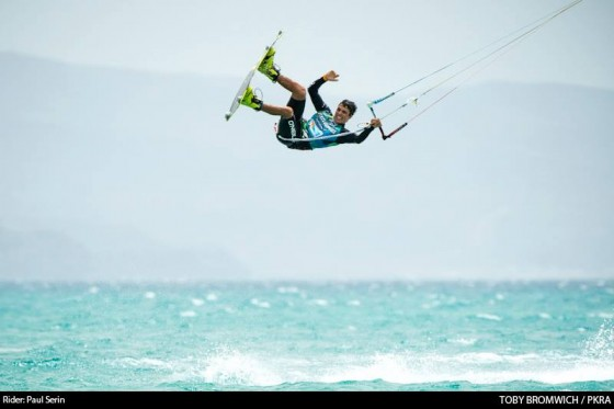 Freestyle Competition begins in Fuerteventura