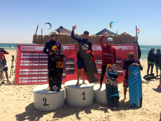 PRINCE MOULAY EL HASSAN KITEBOARDING WORLD CUP, Dakhla - Morocco 2015 - Freestyle Winners