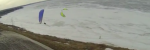Paraglider and kite accident